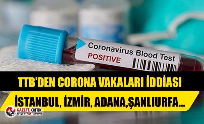 Türk Tabipleri Birliği'nden İl İl Corona Vakaları İddiası!