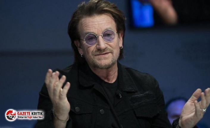 U2 grubunun solisti Bono'dan corona virüs şarkısı