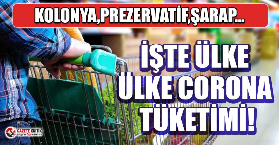 Ülke ülke koronavirüs alışverişleri! Kolonya, makarna, prezervatif, silah...