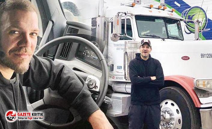 ABD'de tır şoförü olan Tolga Karel anlattı:  Hayatını kaybeden 12 kişinin cesedini taşıdım!