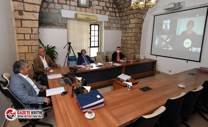 Büyükşehir Encümen Toplantısı İlk Kez Video Konferans ile Gerçekleşti