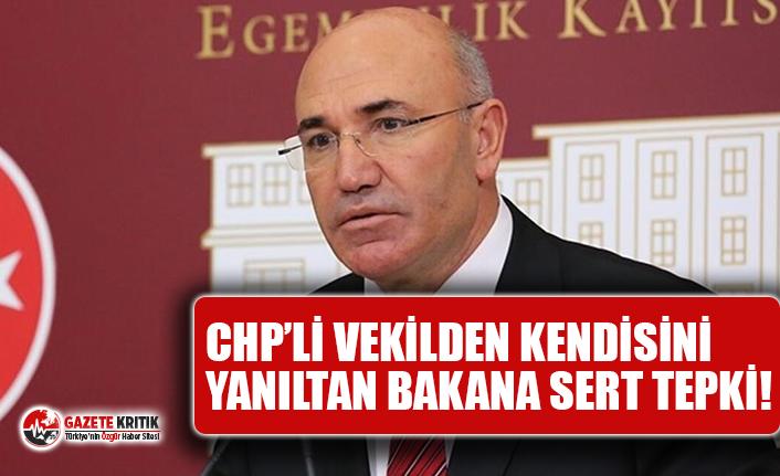 CHP'li Tanal: Hangi Hakla Meclis'i, Vekili Kandırmaya Kalkışırsınız!