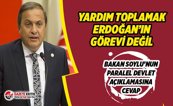 CHP'li Torun: ''Yardım Toplamak Sadece Erdoğan'ın Görevi Değil''
