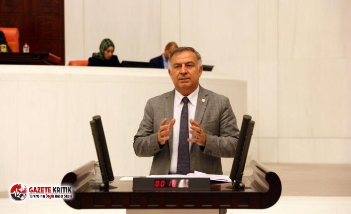 CHP'li Zeybek: 'Kara gün akçesini tefeciye kaptırdılar, vatandaşa IBAN veriyorlar'