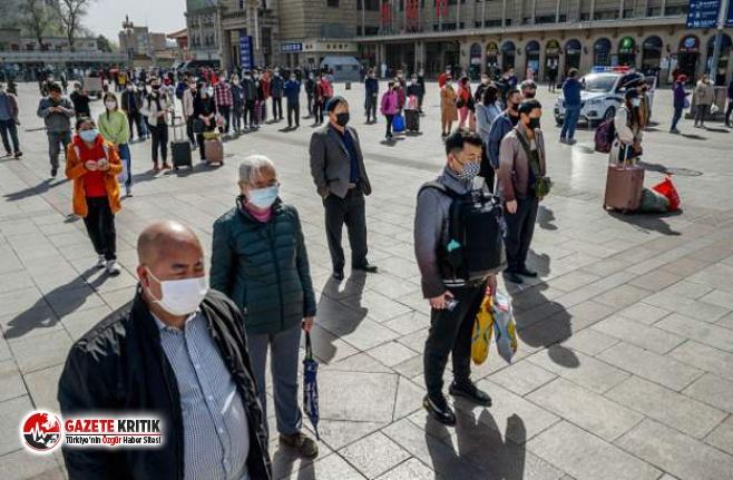 Çin'de koronavirüs sebebiyle ölenleri anmak için ülke genelinde 3 dakikalık anma