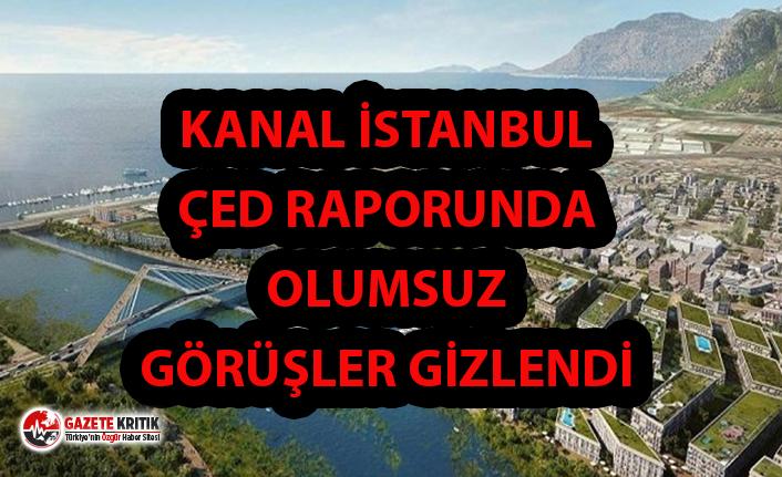 Kanal İstanbul ÇED Raporunda Sit Alanlarını İçeren İtirazlar Yok!