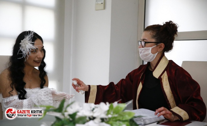 Konak'ta Nikahlara Korona Düzenlemesi