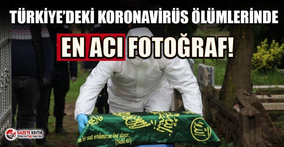 Koronavirüs ölümlerinde Türkiye'deki en acı fotoğraf