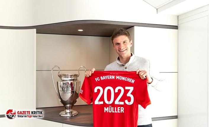 Müller'in sözleşmesi 2023 yılına kadar uzatıldı