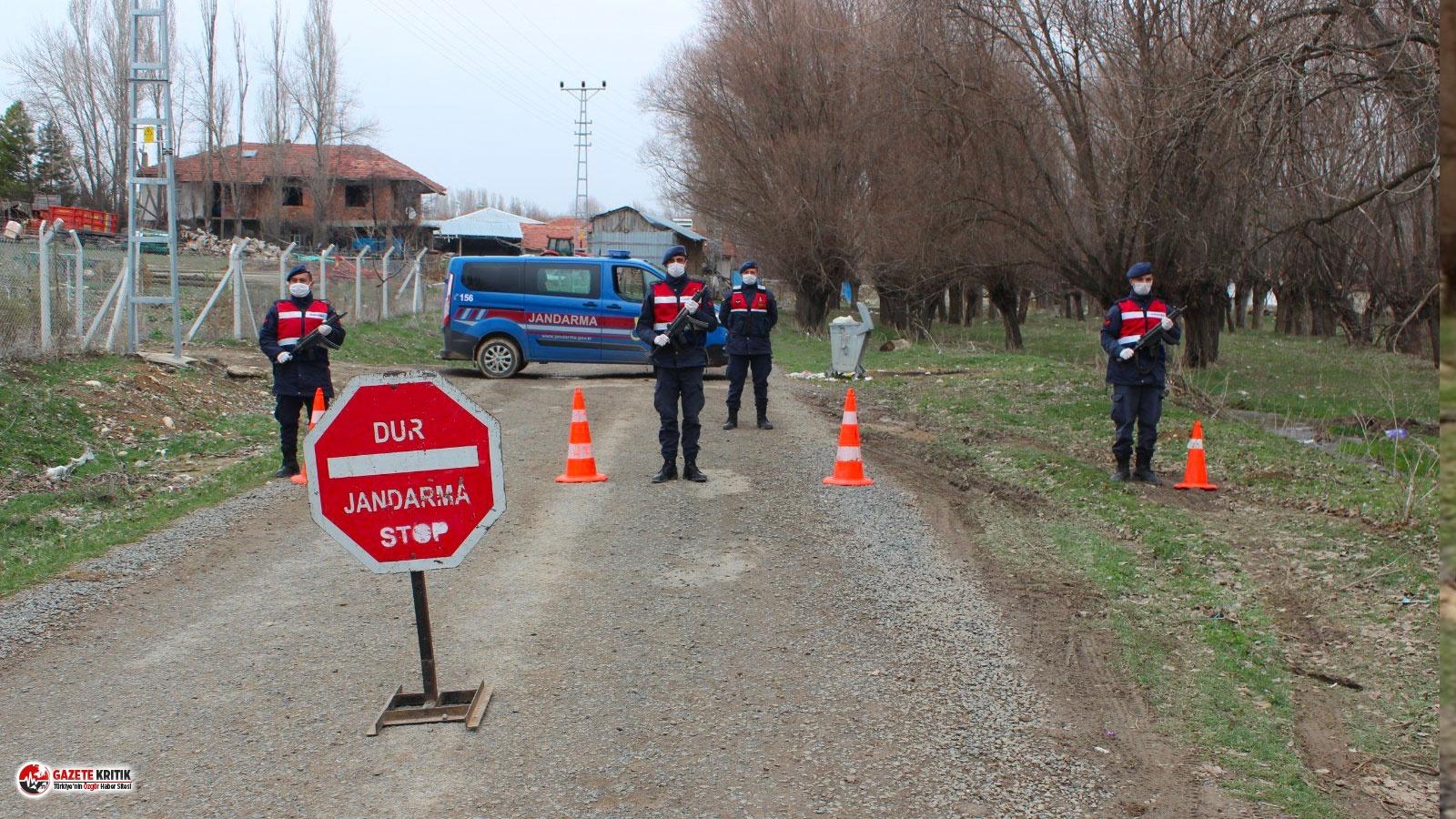 Samsun'da bir mahalle Koronavirüs nedeniyle karantinaya alındı