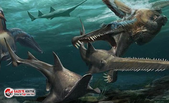Su altında yaşayan ilk dinozor türü keşfedildi