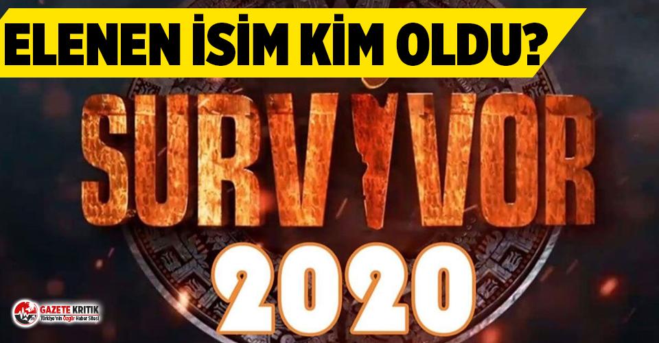 Survivor'da adaya veda eden isim kim oldu?