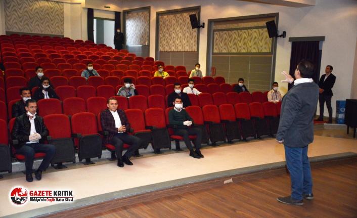Yenişehir Belediyesi Gönüllüleri Vatandaşları Tek Tek Uyaracak