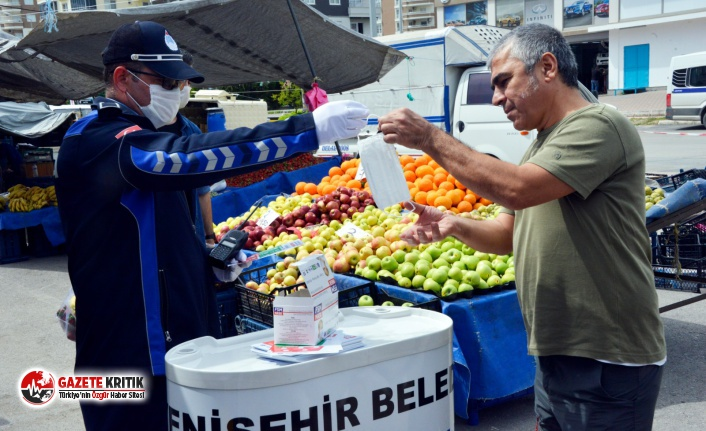 Yenişehir Belediyesi Semt Pazarında Teyakkuzda