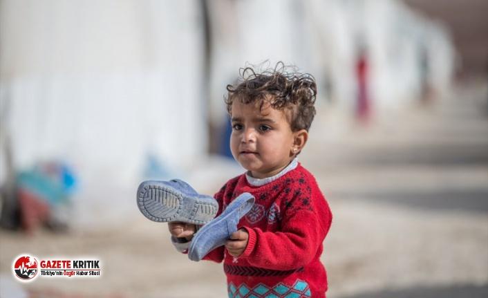 2019'da 19 milyon çocuk yerinden edildi