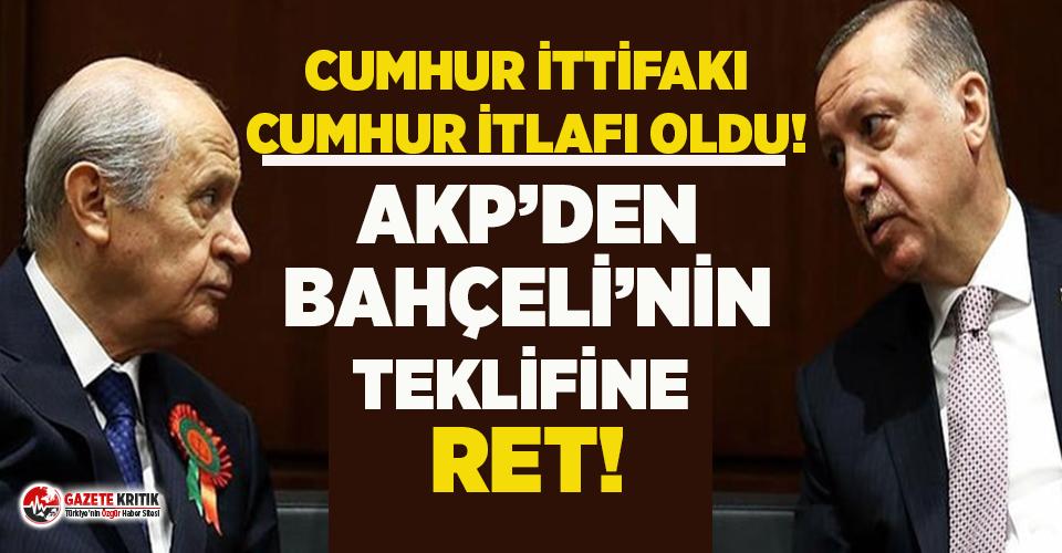 Ankara kulislerini karıştıran bomba iddia: MHP istedi, AKP reddetti