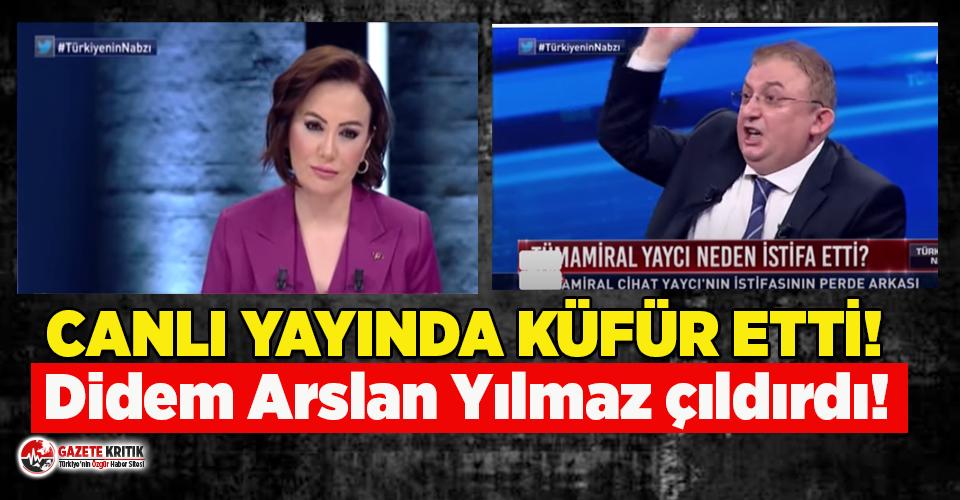 Askerlik anısını anlatan Faik Işık Habertürk canlı yayınında küfür etti Didem Arslan Yılmaz çıldırdı!