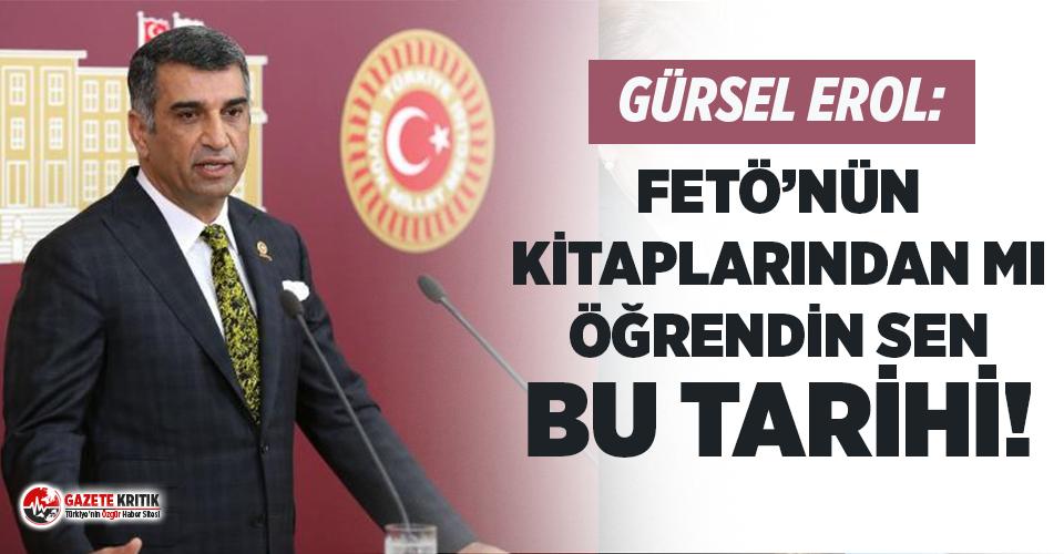 Atatürk yerine Vahdettin'i anan Burhan Kuzu'ya CHP'li vekilden sert tepki