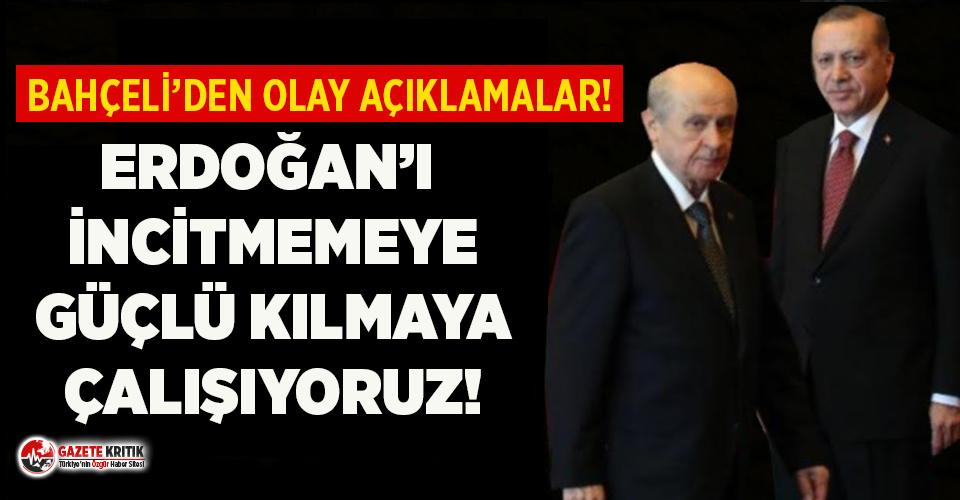Bahçeli'den dikkat çeken Erdoğan açıklaması