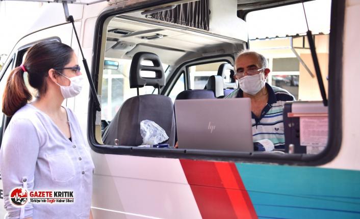 Bornova'da vergi ödeme kolaylığı: Mobil araçlar ve geçici ofislerde devrede