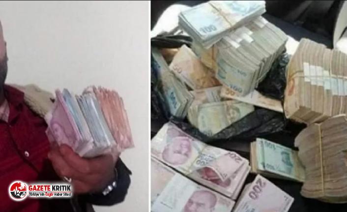 Çaldığı 1 milyon lirayı sosyal medyadan paylaşınca yakalandı