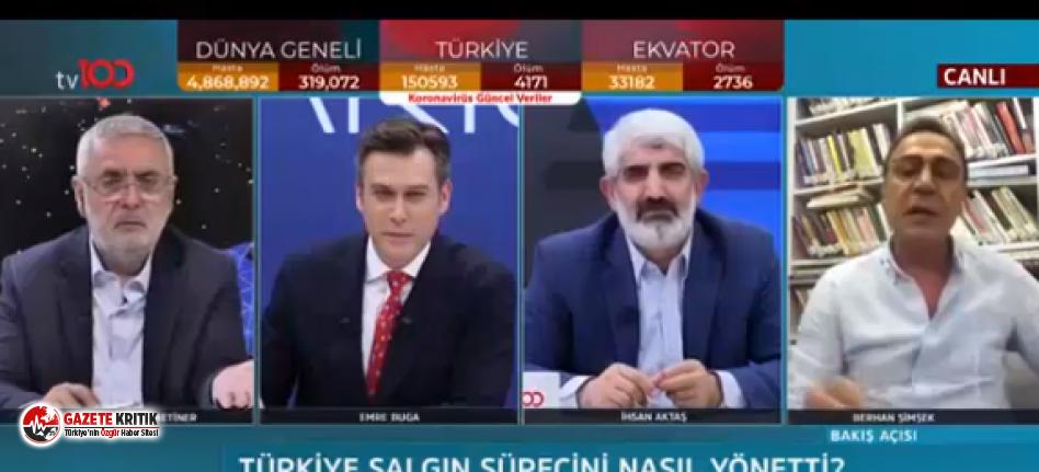Canlı yayında olay var! AKP'li Metiner çılgına döndü: '' Ben de Halk TV izliyorum''