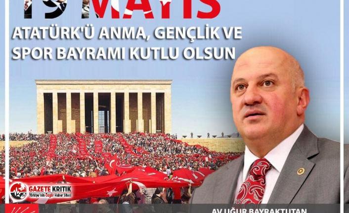 CHP'li Bayraktutan: Türkiye'yi gençlerimizle birlikte yeniden aydınlığa çıkaracağımıza inanıyoruz