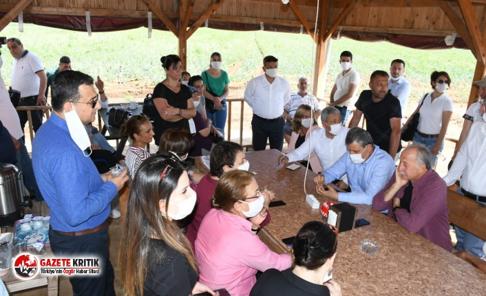 """CHP'li Şevkin:""""Yetiştiriciler ve çiftçiler çözüm bekliyor"""""""