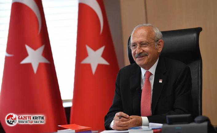 """CHP LİDERİ KILIÇDAROĞLU'NDAN 82 GENÇ İLE """"19 MAYIS"""" BULUŞMASI"""