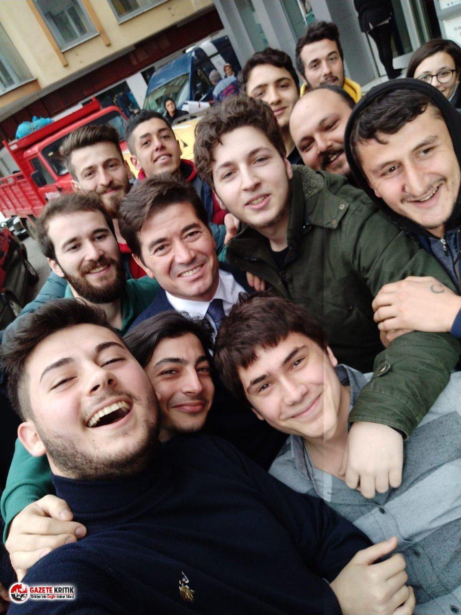"""CHP'Lİ AHMET KAYA'DAN 19 MAYIS MESAJI:  """"GENÇLİK UMUTTUR"""""""
