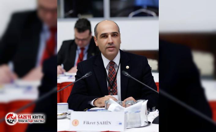 CHP'li Şahin; '' Yoksulluğun, Yolsuzluğun ve Yasakların Kaldırıldığı Bir Türkiye'yi Kurduğumuzda En Büyük Bayramı Yaşayacağız.''