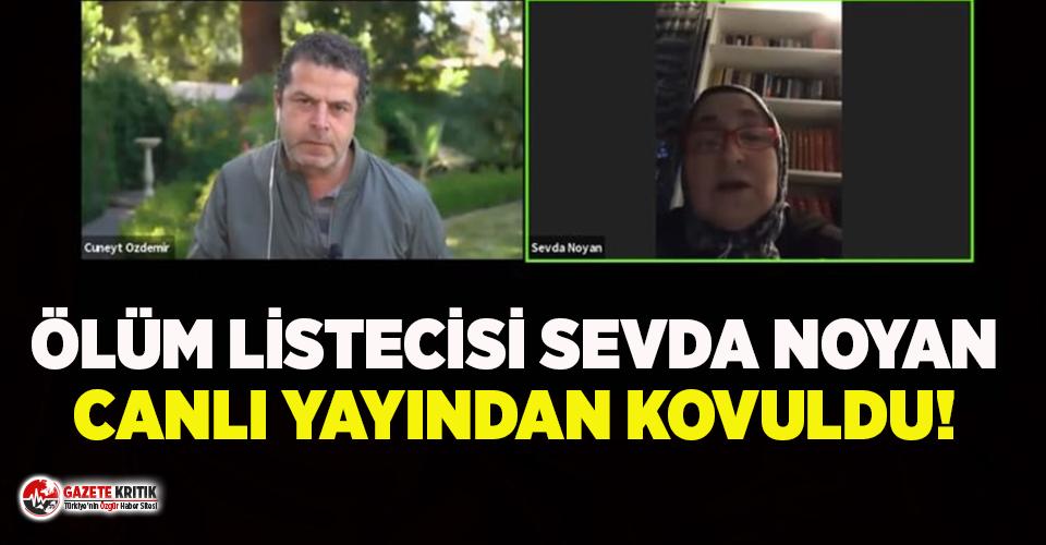 Cüneyt Özdemir, Sevda Noyan'ı canlı yayından kovdu