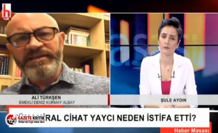 Emekli Deniz Kurmay Albayı Türkşen, Yaycı'nın istifasını değerlendirdi: Hulusi Akar'ı işaret etti