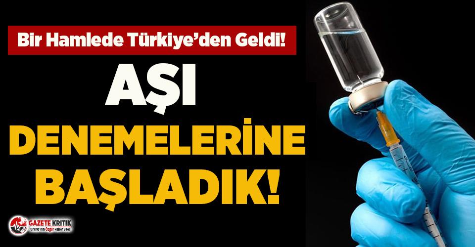 Erciyes Üniversitesi koronavirüs aşısı denemelerine başladı