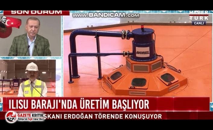 Erdoğan, canlı yayında Bakan Bekir Pakdemirli ve protokol üyelerine fırça attı