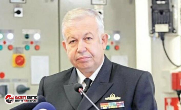 Erdoğan'ın görevini değiştirdiği Tümamiral Cihat Yaycı'nın istifası onaylandı