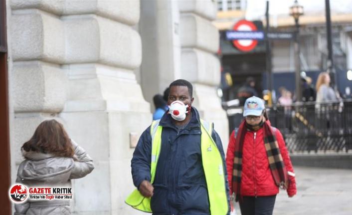 İngiltere'de koronavirüsİngiltere'de Kovid-19 ölümleri 34 bini geçti