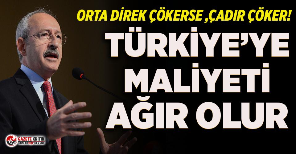 Kılıçdaroğlu: Pazartesi günü 'buhrandan' çıkış planını anlatacağım