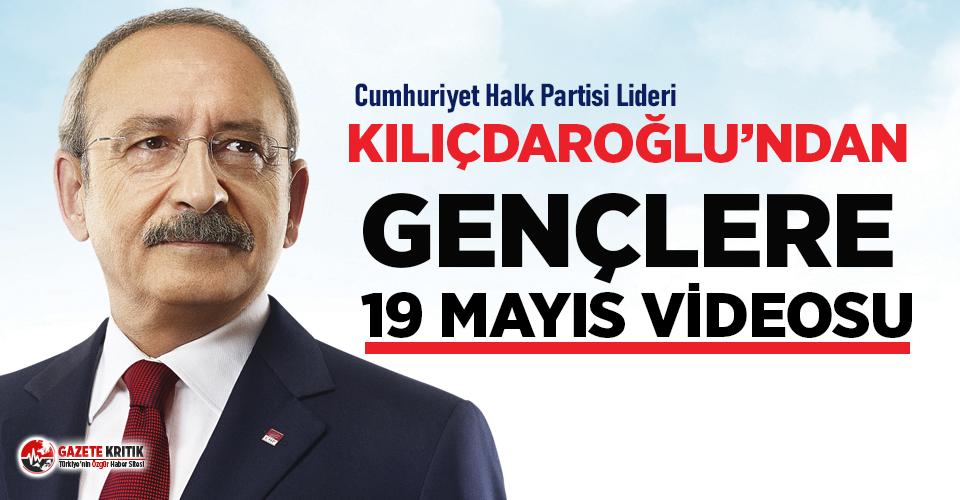 CHP Genel Başkanı Kılıçdaroğlu'ndan rap şarkısıyla 19 Mayıs mesajı!