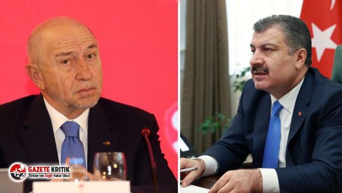 Sağlık Bakanı Koca'dan ligler konusunda açıklama