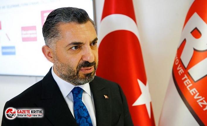 Sözde 'bağımsız' olan RTÜK'ün Başkanı: Cumhurbaşkanımızdan emir bekliyoruz