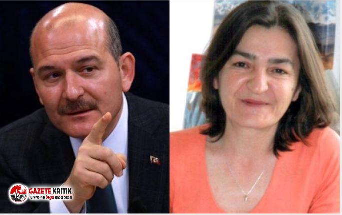 Süleyman Soylu sessizliğini bozdu Müyesser Yıldız'ı hedef aldı