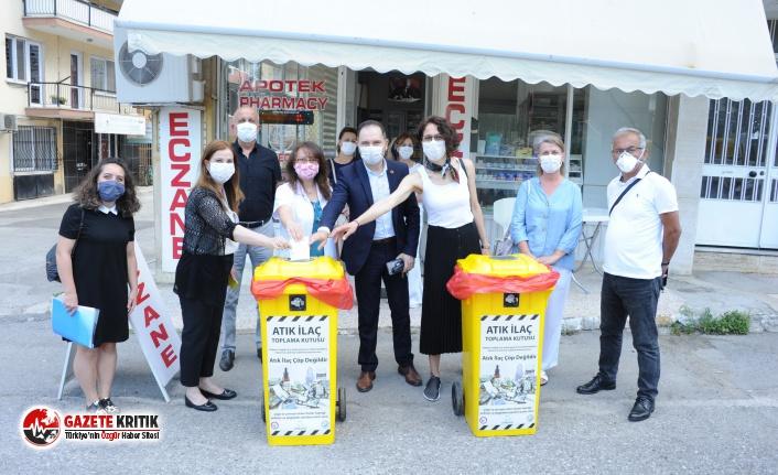 Balçova'da Atık İlaçlar çevreye zarar vermeyecek