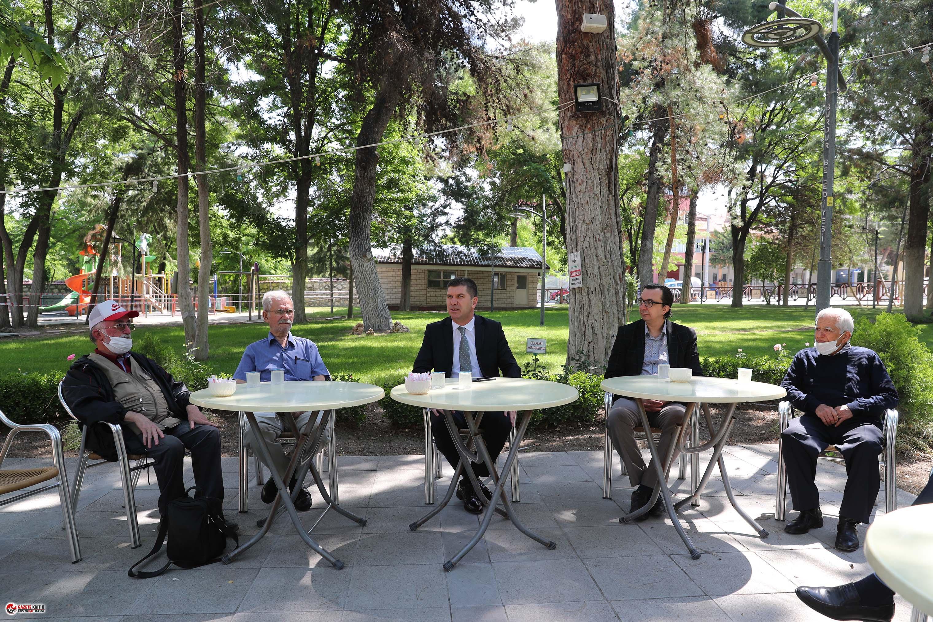 Başkan Ercengiz, basın mensuplarıyla bir araya geldi