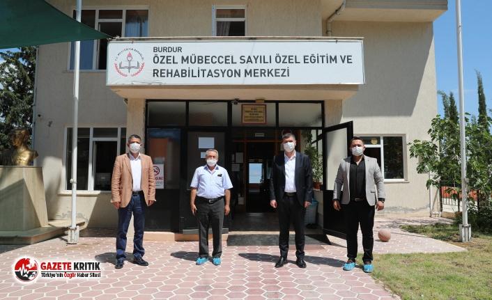 Başkan Ercengiz'den Rehabilitasyon Merkezlerine ziyaret