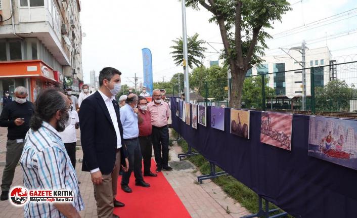 Başkan Gökhan Yüksel, 'Emeğimizah Karikatür Sergisi'nin Açılışına Katıldı