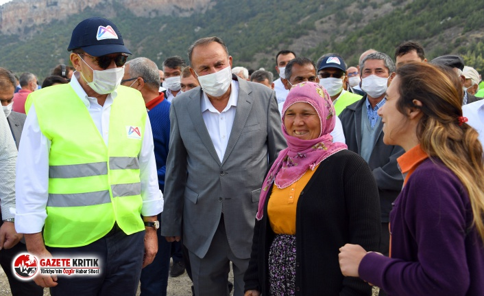 Başkan Seçer, 3 kırsal mahallenin 13 km'lik yol çalışmalarını inceledi!