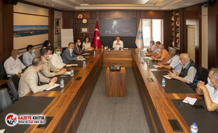 Başkan Seçer, STK'lar, Meslek Odaları Ve Sendika Temsilcileri İle Bir Araya Geldi