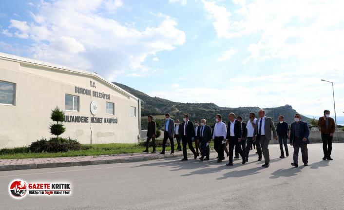 Burdur'un Belediye Başkanları Burdur'a hizmet için kenetlendi