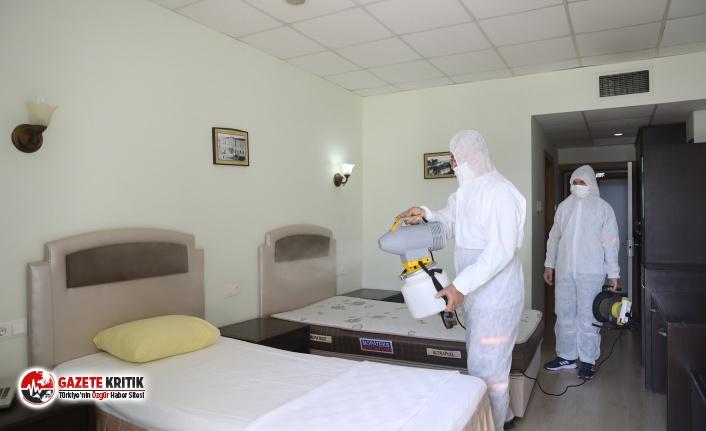 Büyükşehir,Koronavirüs'e Karşı Aldığı Önlemleri Sürdürüyor